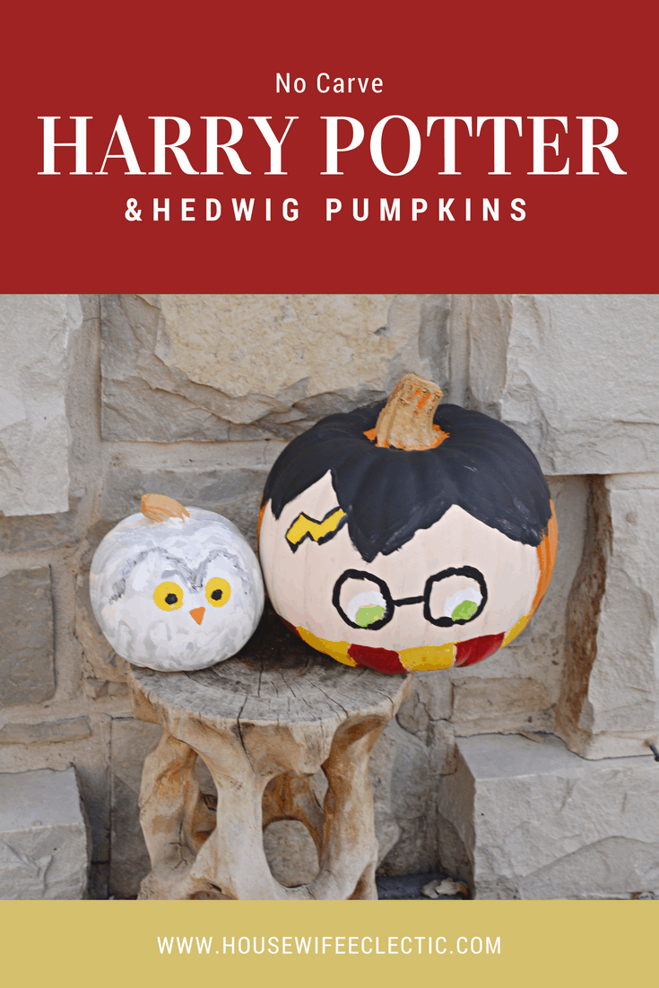 Harry Potter & Hedwig Pumpkins