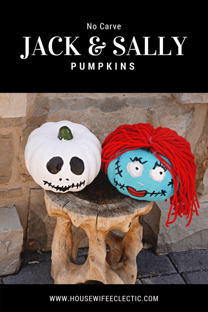 Nightmare Before Christmas Pumpkins Housewife Eclectic