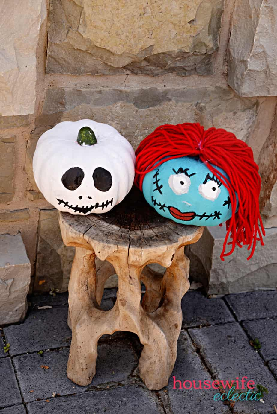 Nightmare Before Christmas Pumpkins - Housewife Eclectic