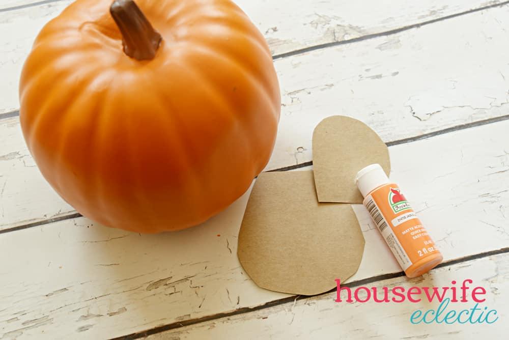 Finding Nemo pumpkin : supplies for a No Carve Disney Pumpkin