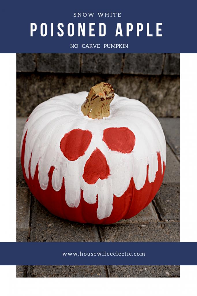 Snow White Poisoned Apple Pumpkin
