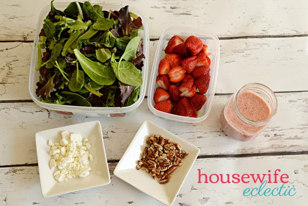 Strawberry Poppyseed Salad - Ingredients
