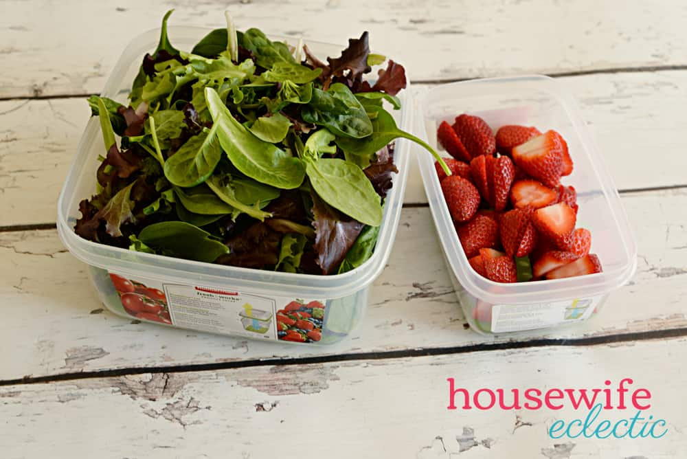 Strawberry Poppyseed Salad - Freshworks container