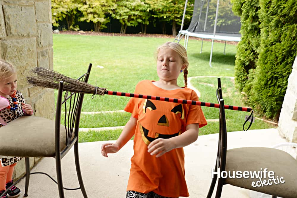 Halloween Party Games: Witch Limbo