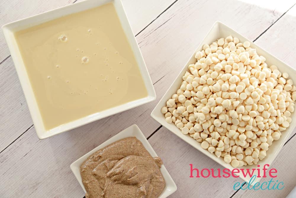 Three-Ingredient Almond Butter Fudge Recipe Ingredients