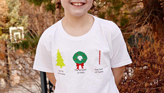 Harry Potter Merry Hallows DIY Shirt with Cricut