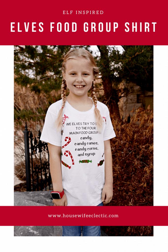 Elf Shirts : Elf Food Groups