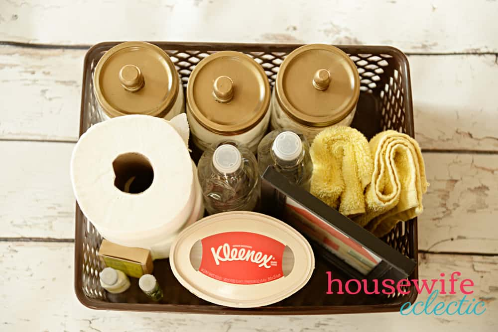 Guest Welcome Basket : Welcome Guests with the essentials all in a basket