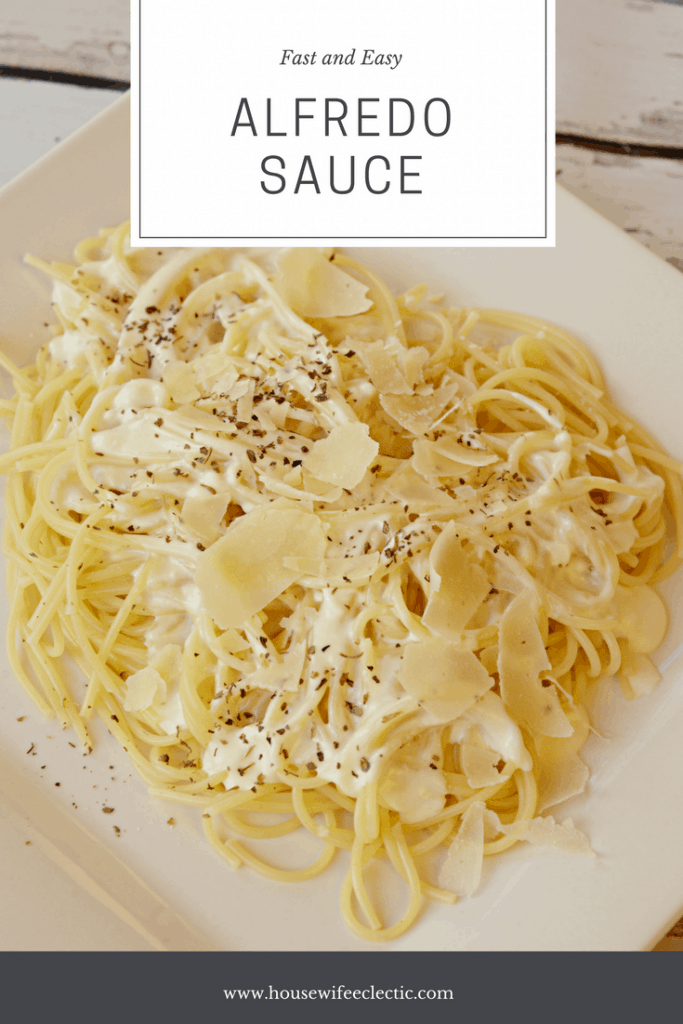 Fast and Easy Alfredo Sauce