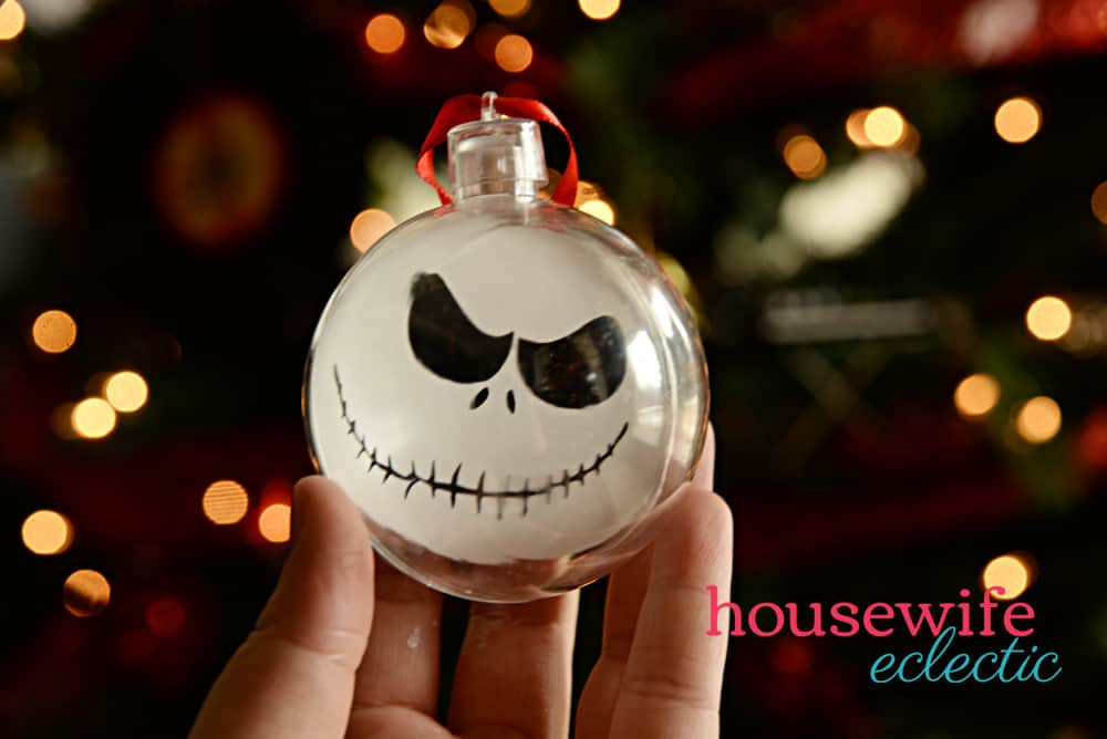 Nightmare Before Christmas Ornaments : Jack Skellington