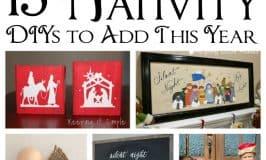 15 Nativity DIYS
