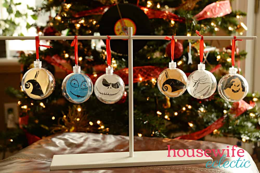 nightmare before christmas ornaments - The Nightmare Before Christmas Decorations