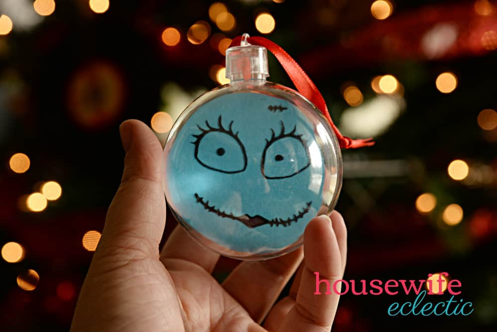 Nightmare Before Christmas Ornaments: Sally