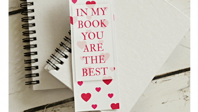 Bookmark Valentine with Free Printable
