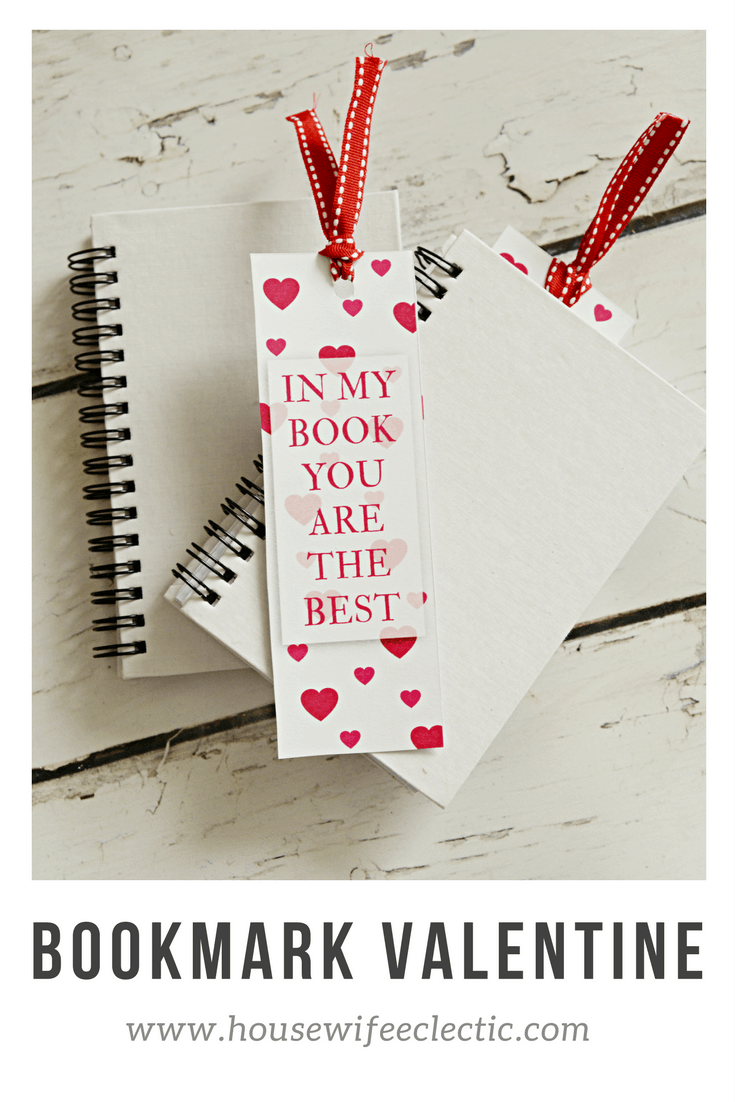 Bookmark Valentine with Free Printable
