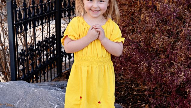 DIY Belle Dress from a Men's T-Shirt