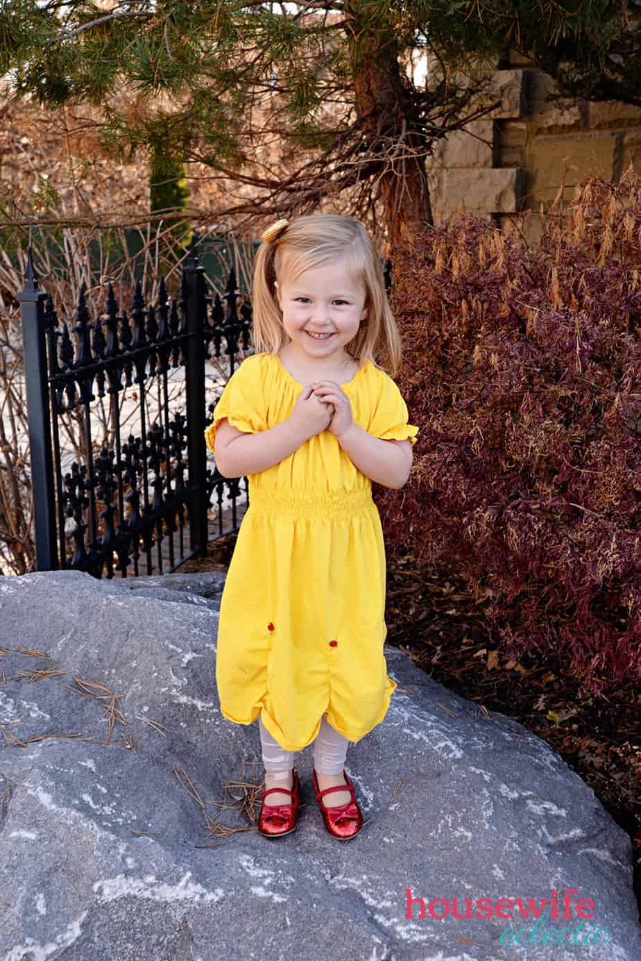 DIY Belle Dress