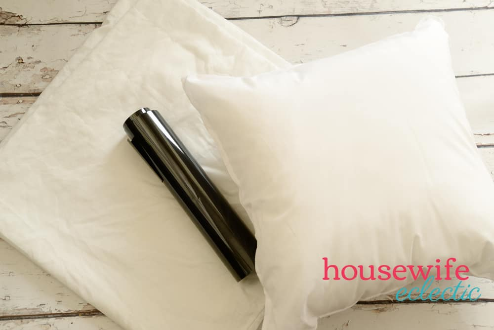 DIY Funny His and Hers Pillows Supplies