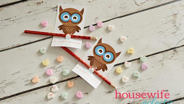 Owl Post Harry Potter Valentine
