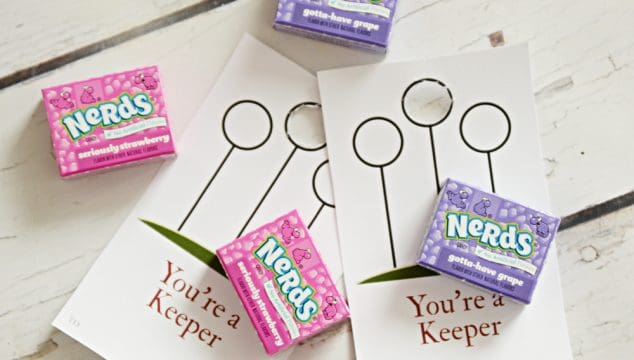 You're A Keeper Harry Potter Valentine