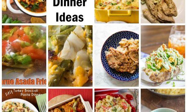 Easy and Yummy Dinner Ideas