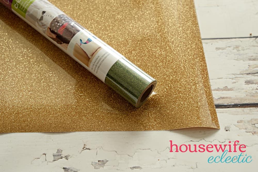 Glitter Shamrock Shirts: Glitter Heat Transfer