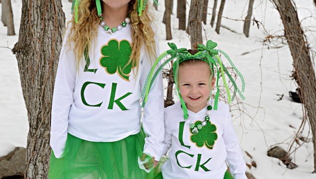 Glitter Shamrock Shirts To Keep You From Getting Pinched