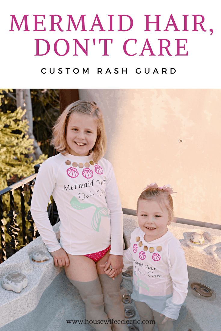 DIY Rash Guard With Cricut