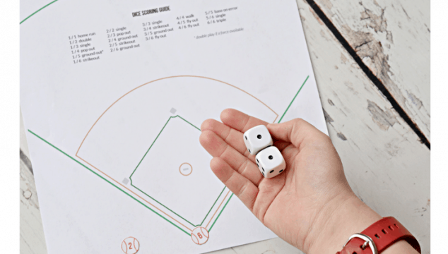Tabletop Dice Baseball—Keeping America's Pastime Alive