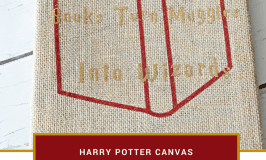 Books Turn Muggles Into Wizards Canvas