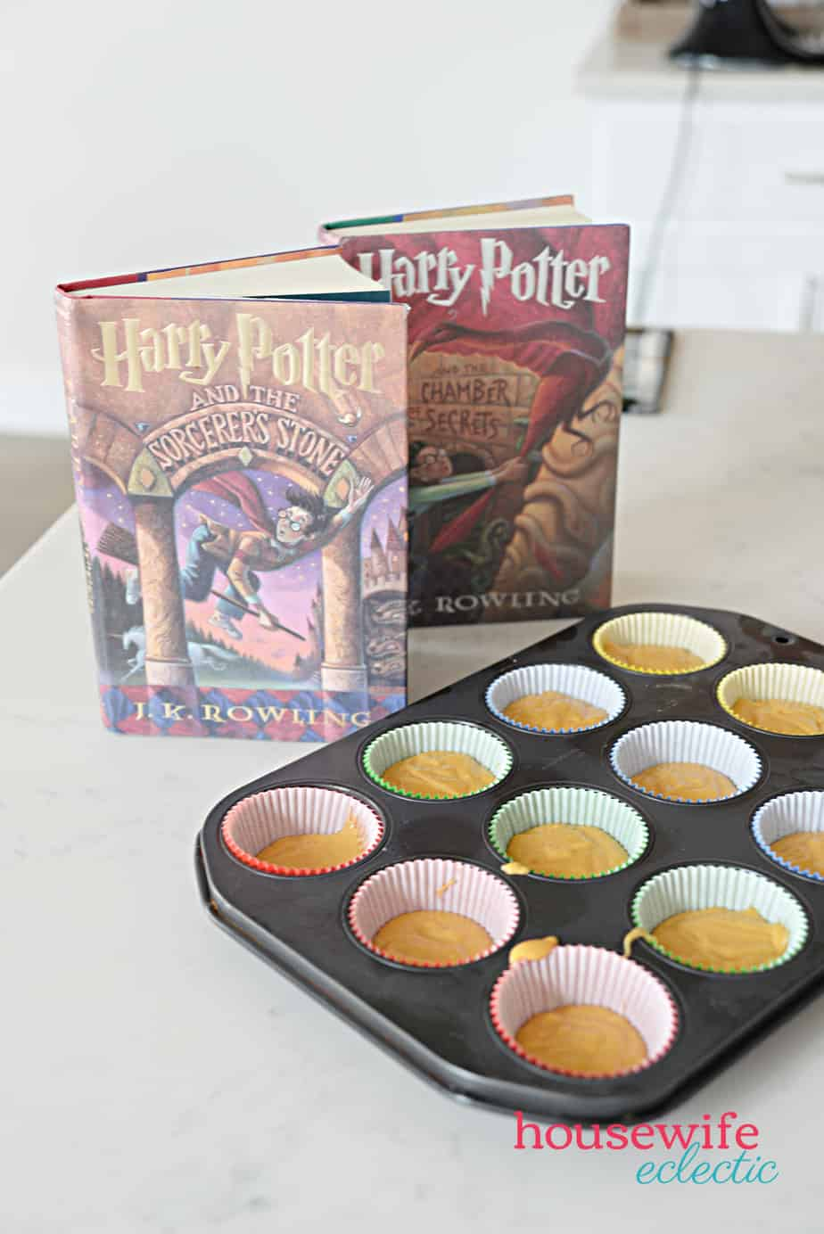 Harry Potter Butterbeer Cupcakes batter