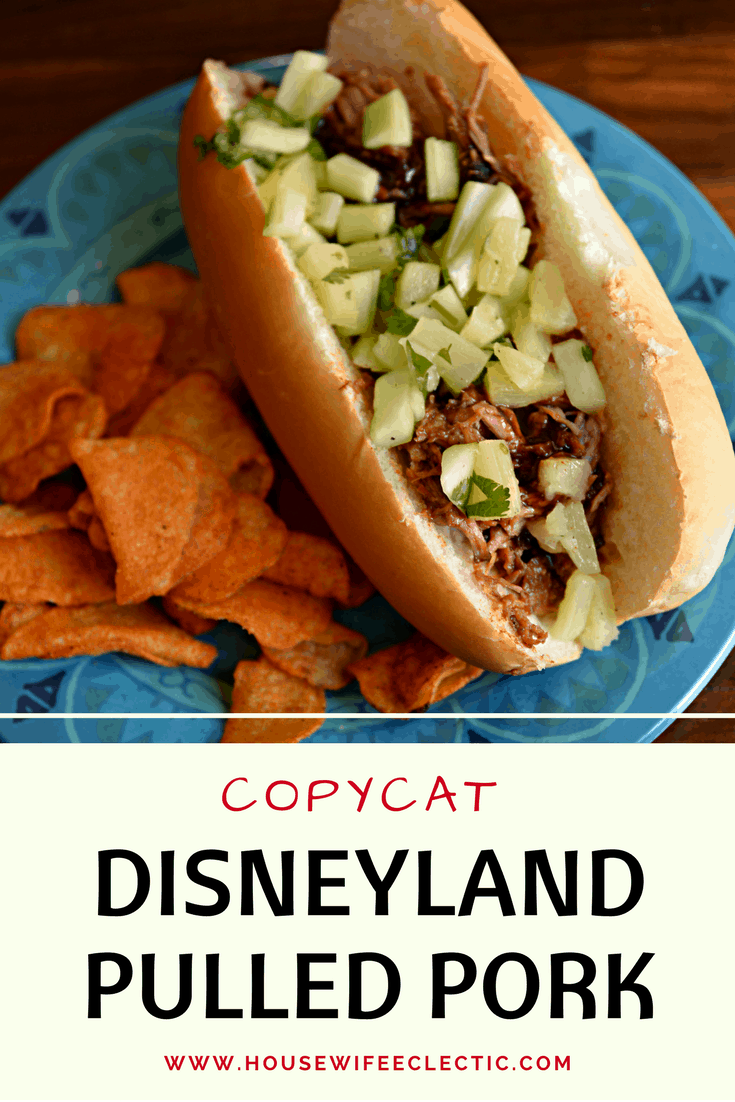 Copycat Disneyland Pulled Pork Sandwich