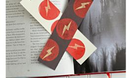 Tissue Paper Bookmarks