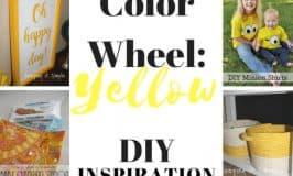 Yellow DIY Inspiration