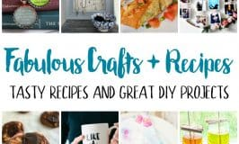 Fabulous Crafts and Recipes