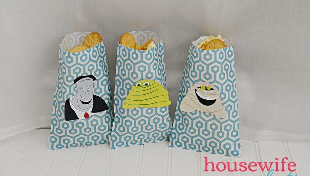 Hotel Transylvania Snack Bags with Free Printable