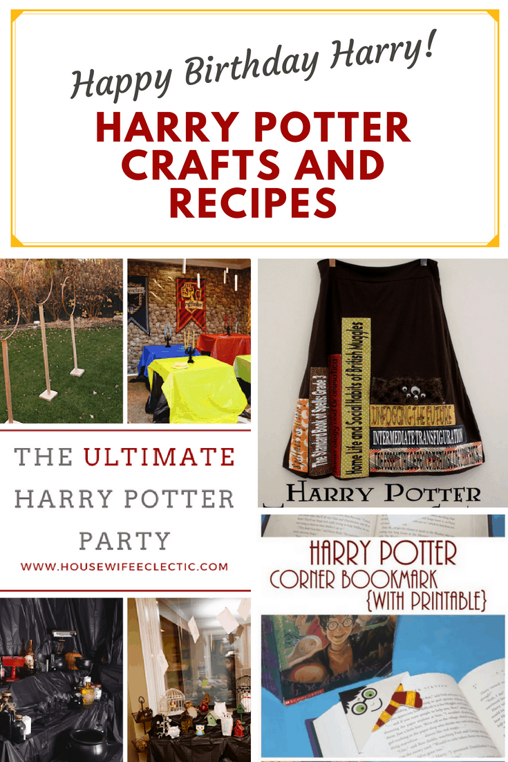 Harry Potter Themed Crafts