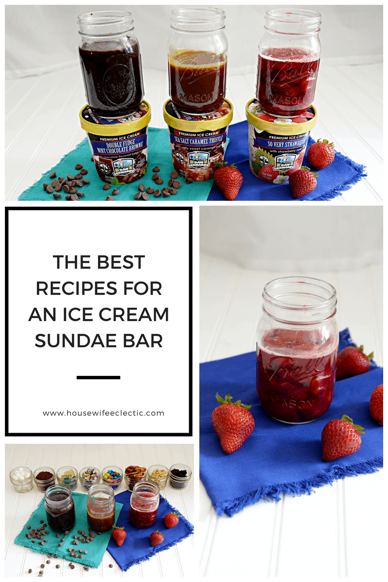 The Best Recipes For An Ice Cream Sundae Bar