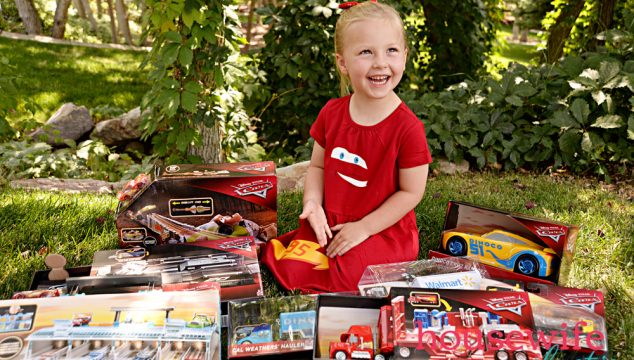DIY Lightning McQueen Dress and Our Favorite Cars Toys