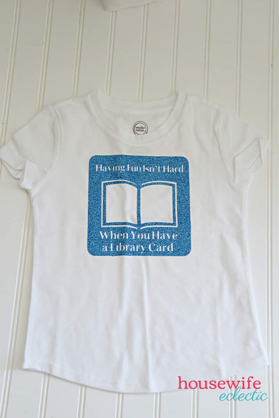 Arthur Library Card Shirt