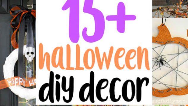 15+ Ideas for Halloween Decors