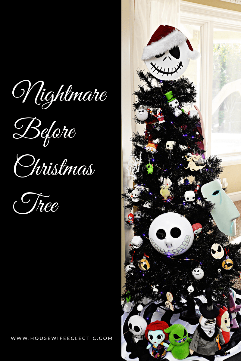 The Nightmare Before Christmas Tree