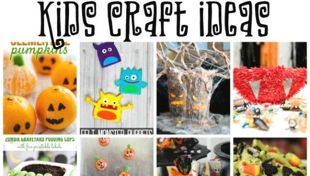 Easy Halloween Kids Craft Ideas