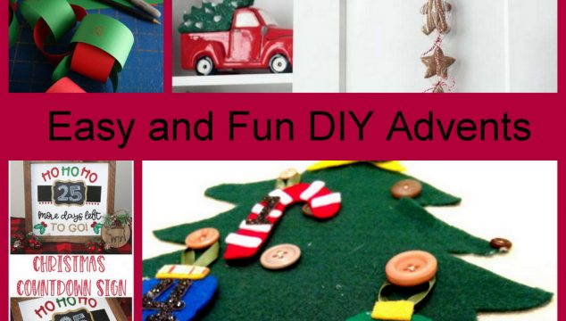 Easy and Fun DIY Advents