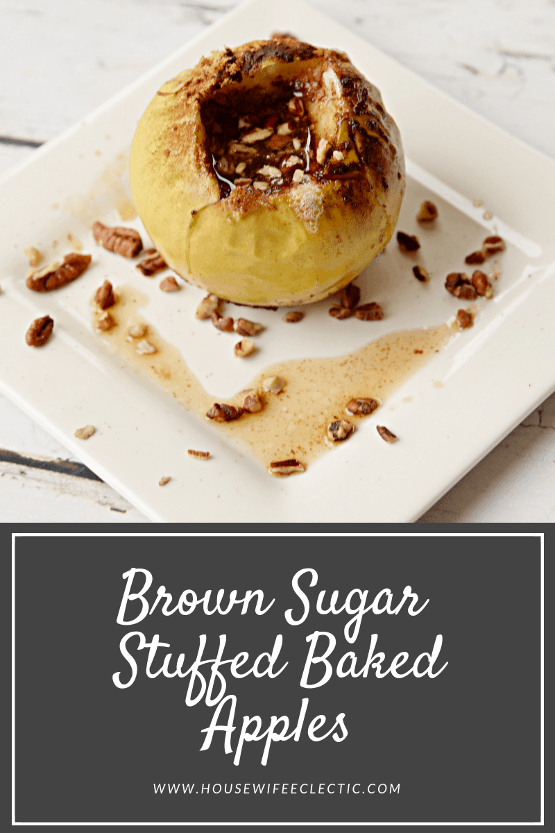 Brown Sugar Stuffed Baked Apples