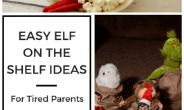 Easy Elf on the Shelf Schedule for Tired Parents