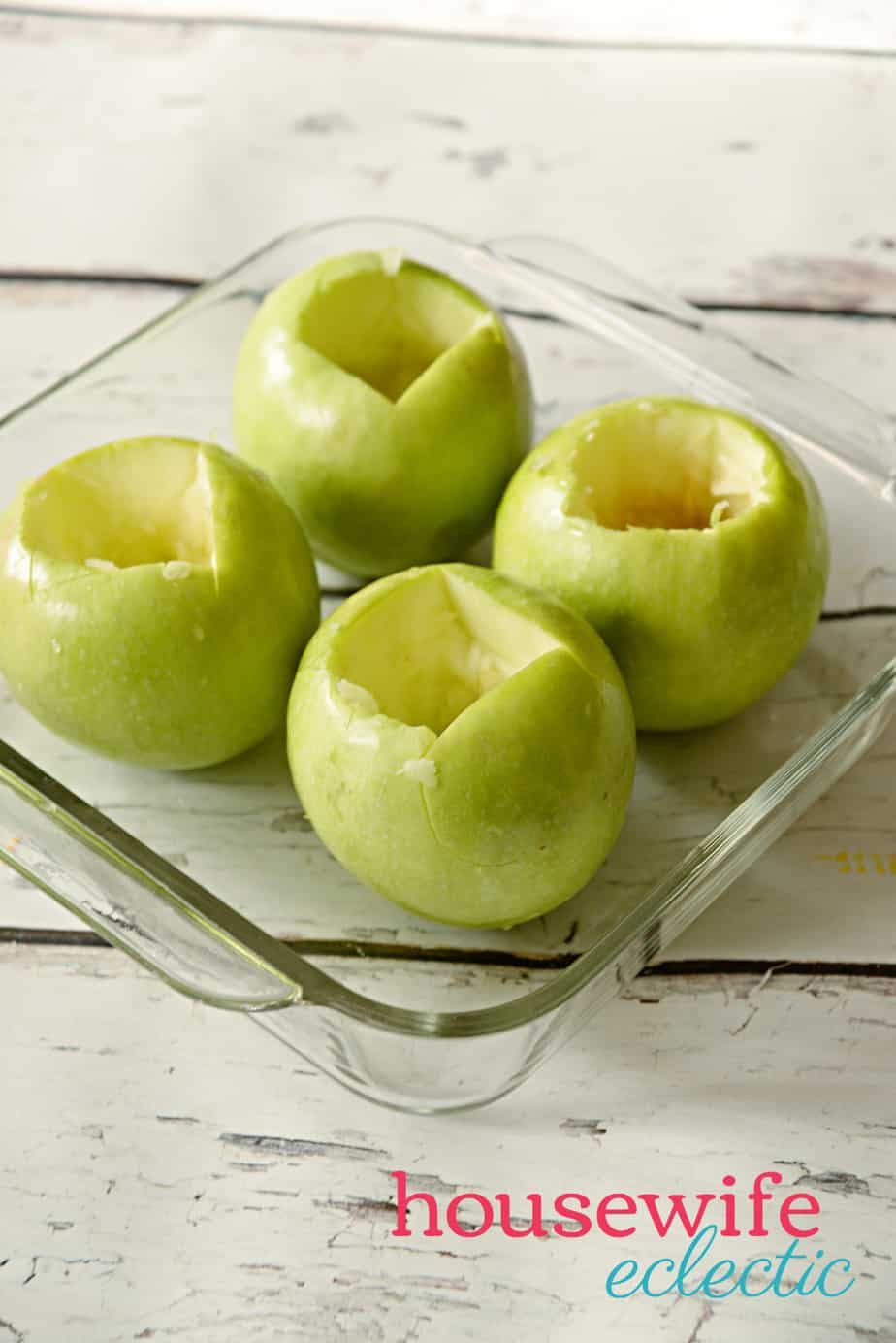 Brown Sugar Stuffed Baked Apples : Scooped Out Apples