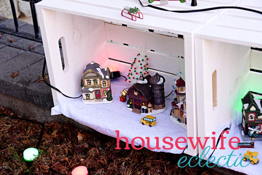 Housewife Eclectic: Christmas Fairy Garden