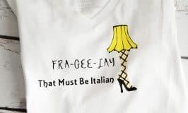 A Christmas Story Leg Lamp Shirt