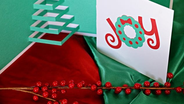 Homemade Pop-Up Christmas Tree Card (with Free Printable Template)